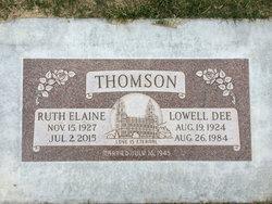 Lowell Dee Thomson