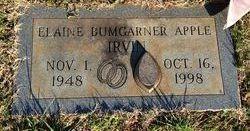 Rebecca Elaine <I>Bumgarner</I> Apple Irvin