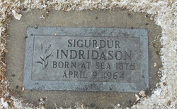 "Sigurdur ""Siggi"" Indridason"