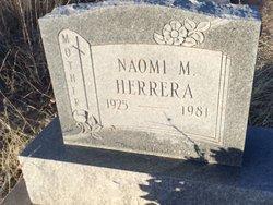 Naomi M Herrera