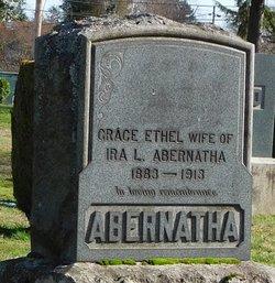 Grace Ethel <I>Davis</I> Abernatha