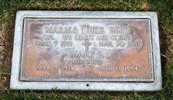 Marma Duke Sims
