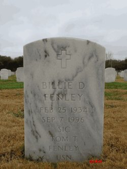 Billie D Fenley