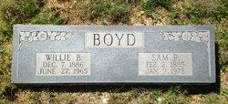 Willye Birdie <I>Ethridge</I> Boyd
