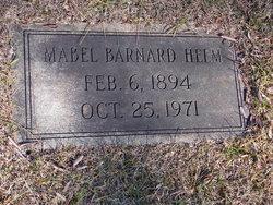 Mabel <I>Barnard</I> Helm