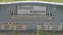 Mary F. <I>Crothers</I> Flye