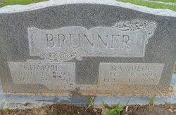 Mathilde <I>Hoyer</I> Brunner