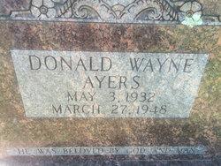 Donald Wayne Ayers