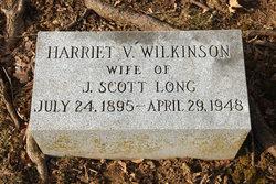 Harriet V. <I>Wilkinson</I> Long