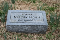 Martha Adeline <I>Terrell</I> Brown