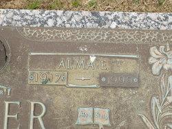 Alma Elizabeth <I>Orr</I> Schemm Bauer