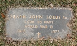LCDR Frank John Loebs, Sr