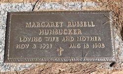 Margaret <I>Russell</I> Hunsucker
