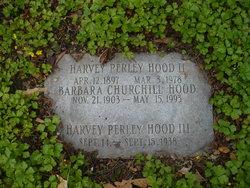 Barbara <I>Churchill</I> Hood