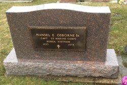 Hansel Eugene Osborne, Sr