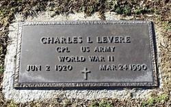 Charles L Levere