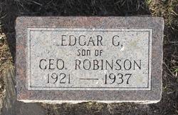 Edgar C Robinson