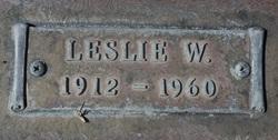 Leslie W. Babcock