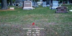 Lucinda Elizabeth <I>Anderson</I> Barringer