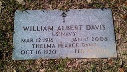 Thelma <I>Pearce</I> Davis