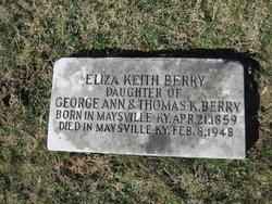 """Elizabeth Keith """"Eliza"""" Berry"""