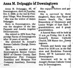 Anna M. <I>DiGiovantonio</I> Delpaggio