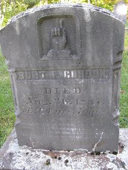 Capt Burt P Gordon