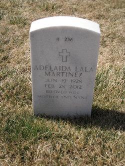 """Adelaida """"Lala"""" <I>Martinez</I> Martinez"""