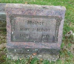 Mary J. <I>Bergman</I> Berndt
