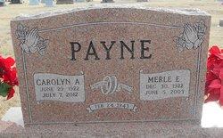 Carolyn Amelia <I>Scott</I> Payne