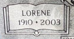 Lorene <I>Haskins</I> Williams