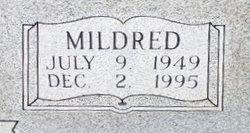"Mildred Lavern ""Pug"" <I>Worsham</I> Butler"