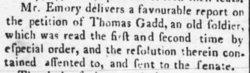 Pvt Thomas Gadd