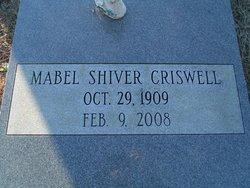 Mabel <I>Shiver</I> Criswell