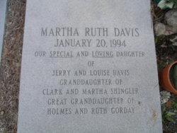 Martha Ruth Davis