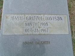 Jessie <I>Grizzle</I> Davison