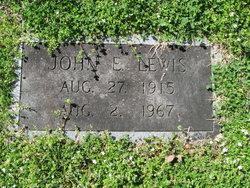 John Edward Lewis, Sr