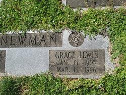 Grace Elizabeth <I>Lewis</I> Newman