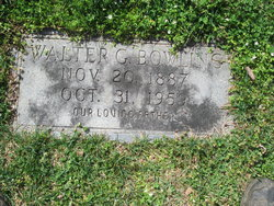 Walter G Bowling