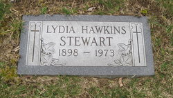 Lydia Eugene <I>Hawkins</I> Stewart