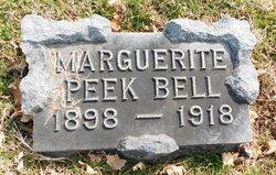 Marguerite <I>Peek</I> Bell