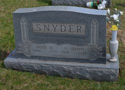 Rosa May <I>Villers</I> Snyder