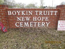 Boykin Truitt New Hope Cemetery