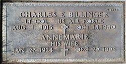 Charles E Billinger