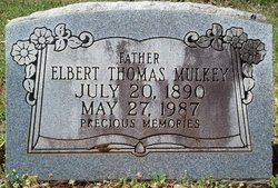 Elbert Thomas Mulkey