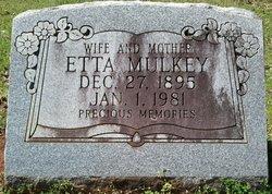 Etta <I>Cradduck</I> Mulkey