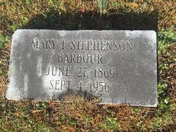 Mary Frances <I>Stephenson</I> Barbour