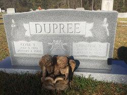 Christine <I>Young</I> Dupree