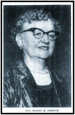 Mary E Ahrens