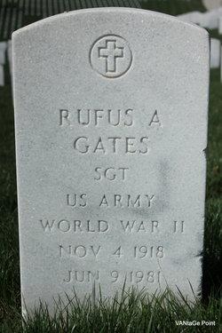 Rufus A Gates